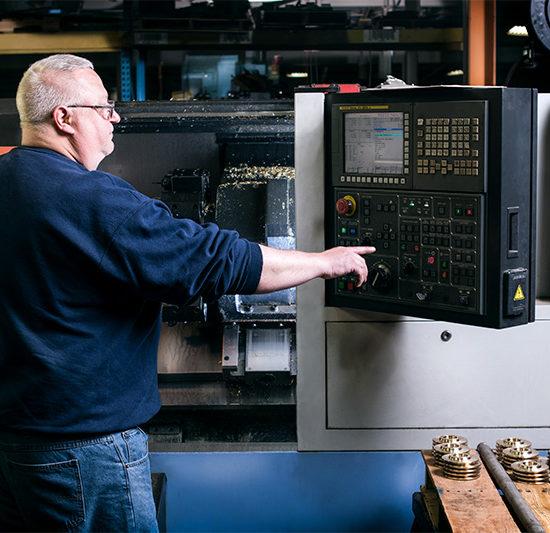 Employee Controling CNC